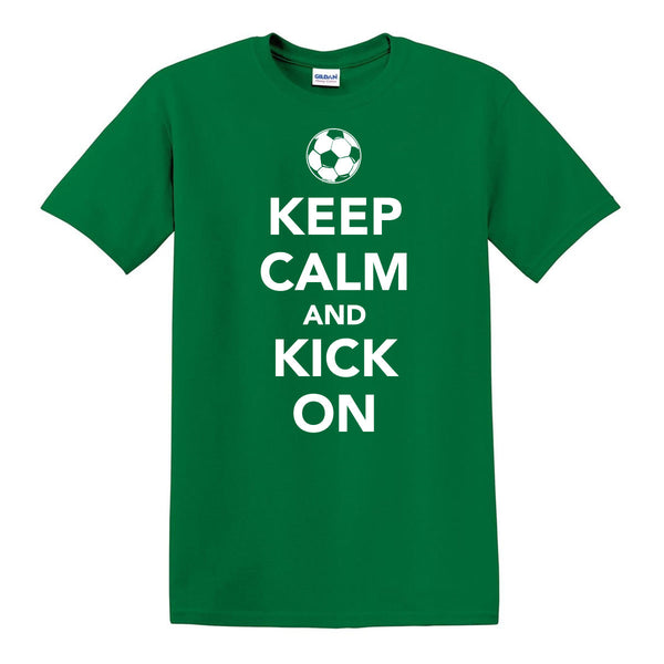 Keep Calm Soccer T-Shirt