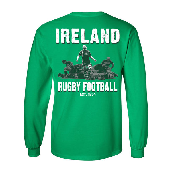 Long-Sleeve Ireland Rugby T-Shirt