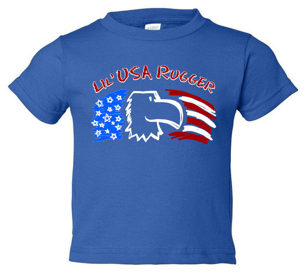 Lil' USA Rugger Kids Rugby T-Shirt