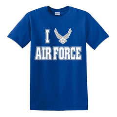 "I ""Heart"" Air Force T-Shirt"