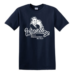 Concussions are Cool - Wrestle T-Shirt