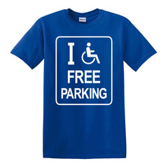 "I ""Heart"" Free Parking T-Shirt"