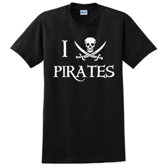 "I ""Heart"" Pirates T-Shirt"