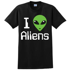 "I ""Heart"" Aliens T-Shirt"