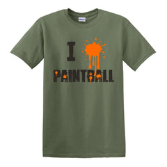 "I ""Heart"" Paintball T-Shirt"