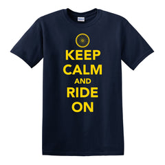 Keep Calm Cycling T-Shirt