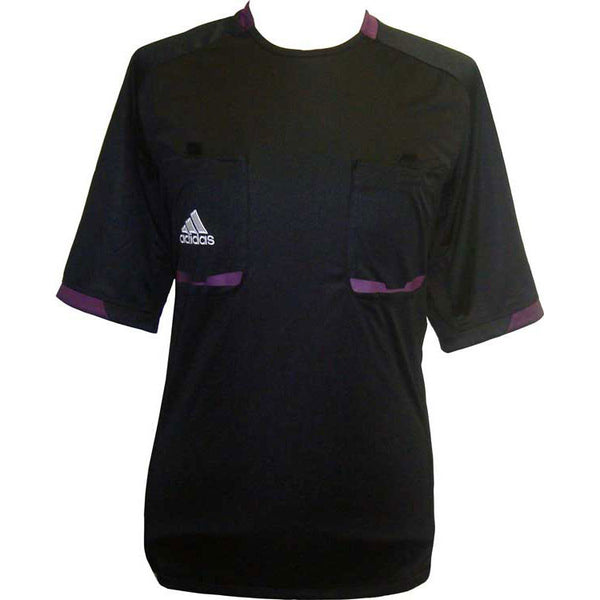 Referee 12 Soccer Jersey - Black