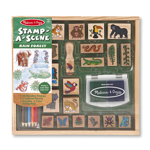 Stamp-a-Scene-Rain Forest