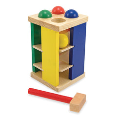 Wooden Pound & Roll Tower