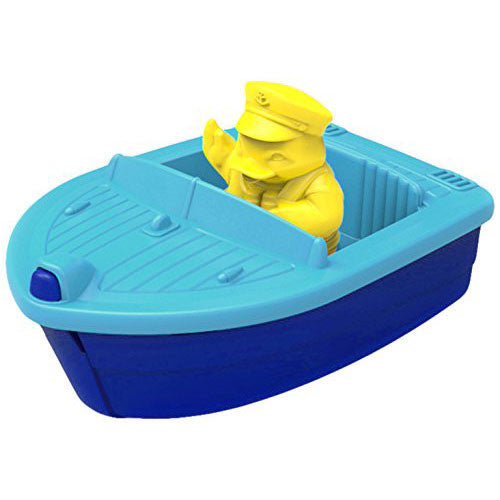 Launch Boat - Blue