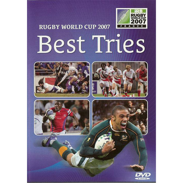 Best Tries of Rugby World Cup 2007 DVD