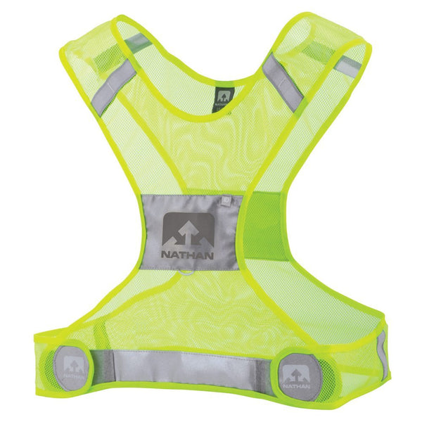 Streak Reflective Vest - Yellow