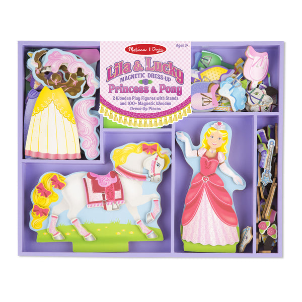 Lila & Lucky Magnetic Dress-Up
