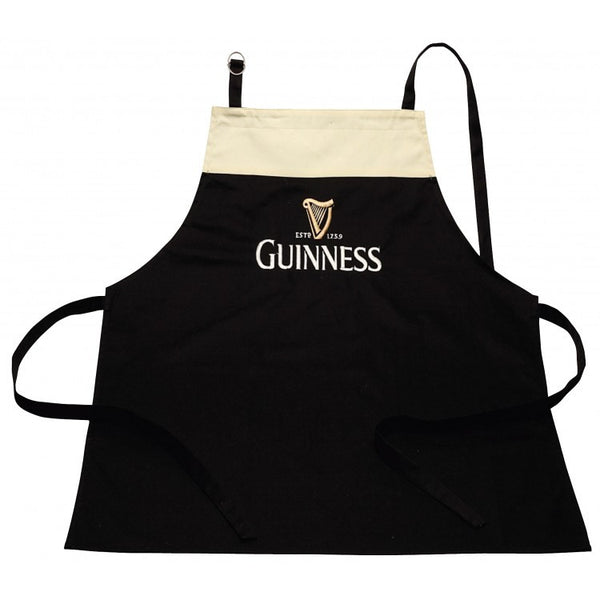 Black and Cream Pint Apron