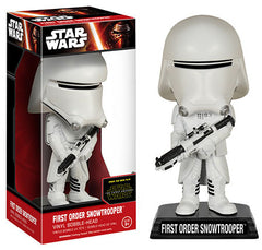 Star Wars - EP7: First Order Snowtrooper Bobble Head
