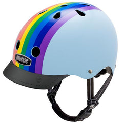 Rainbow Sky Bike Helmet