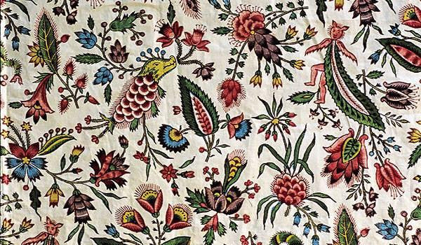 ENGLISH FLORAL FABRIC