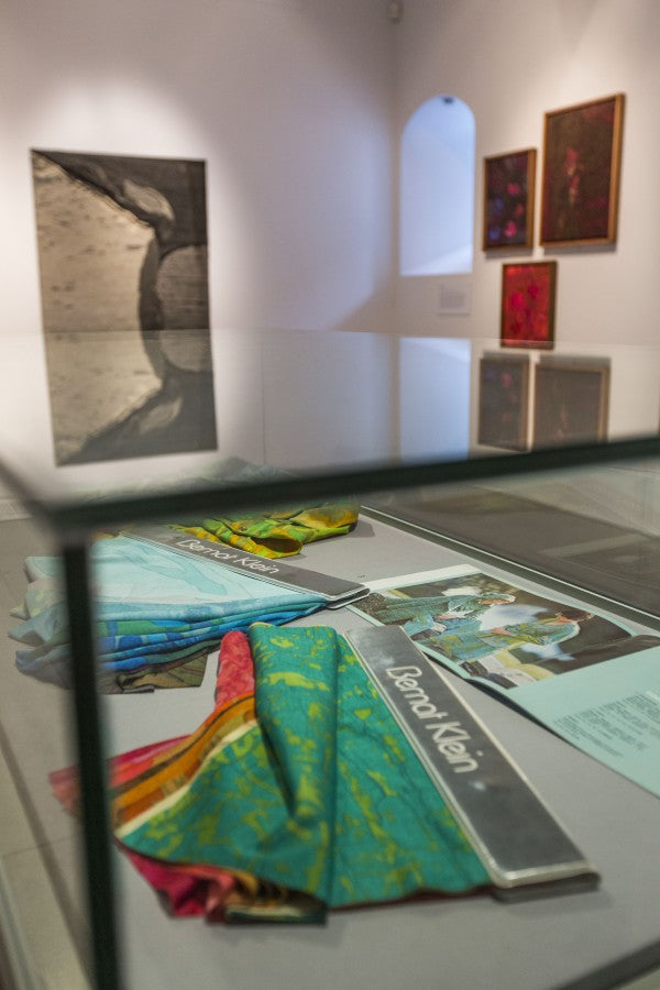 Bernat Klein, A Life in Colour, 1970s fabric samples, Dovecot Gallery, photo credit Stuart Armitt