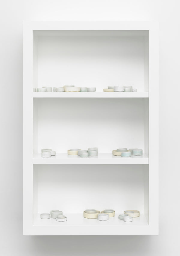 Edmund de Waal, in the north north east, 2014 Edmund de Waal courtesy New Art Centre, Roche Court, Photograph by Mike Bruce