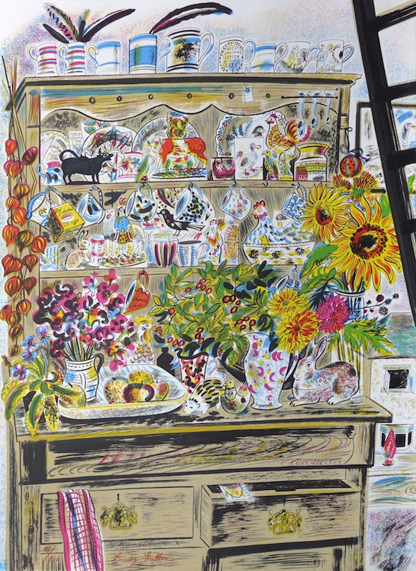Emily Sutton, September Dresser. Lithograph. Courtesy the artist, St Jude's and YSP