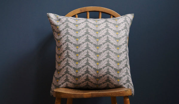 KiranRaviliousVerbena linen cushion copy