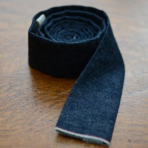 Large-Dark Denim Tie 1