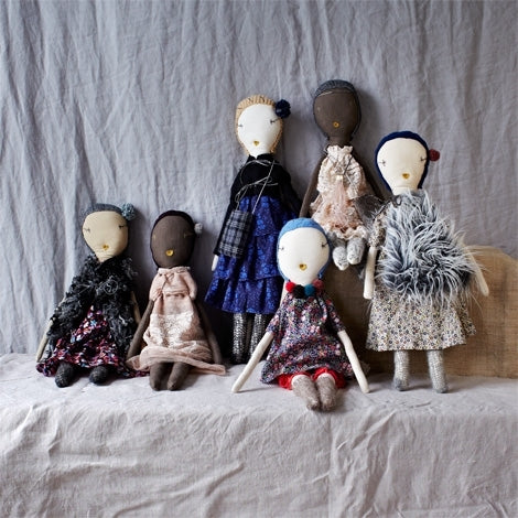 Large-jess brown dolls