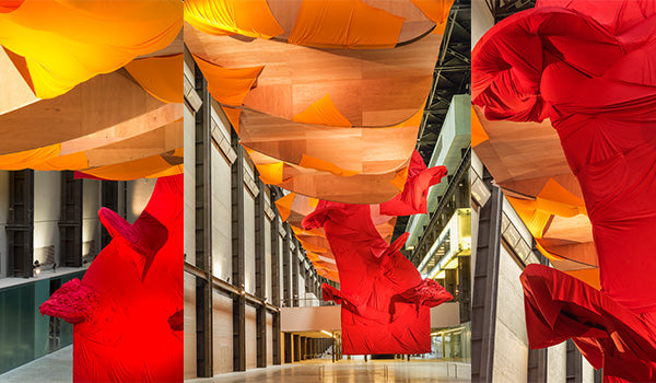 Richard Tuttle,I Don't Know. The Weave of Textile Language, Turbine Hall at Tate Modern