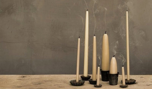 Beeswax candles from £4