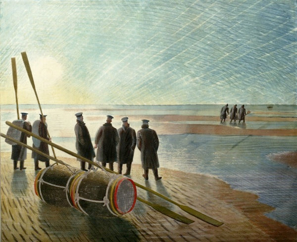 Eric  Ravilious submarines surface at Sworders