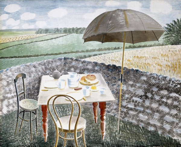 Eric Ravilious, Tea At furlongs 1939