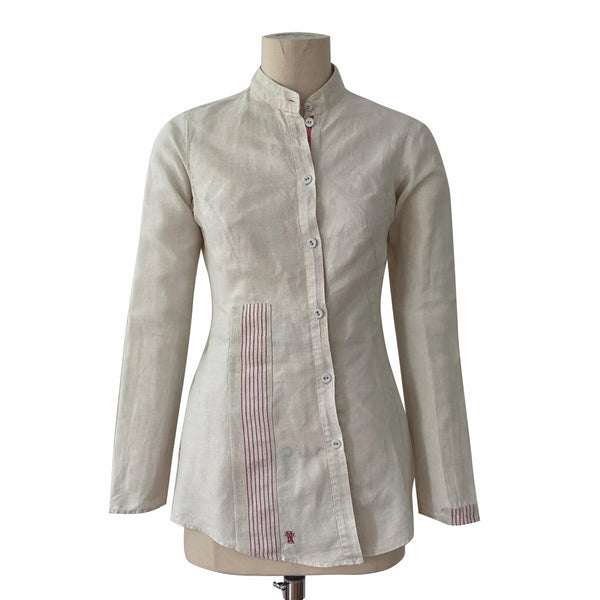 Germany, Christine Mayer, Fine Linen Shirt