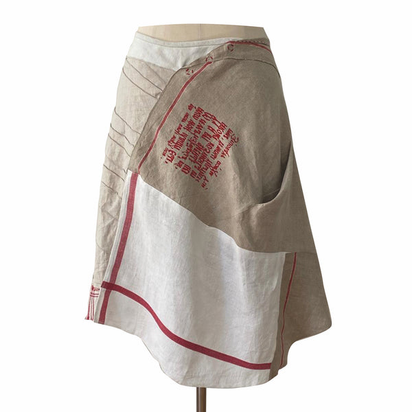 Germany, Christine Mayer, Upcycled Skirt with Embroidery