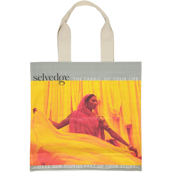The Selvedge Tote, Issue 77 Chakra (Pre-Order)