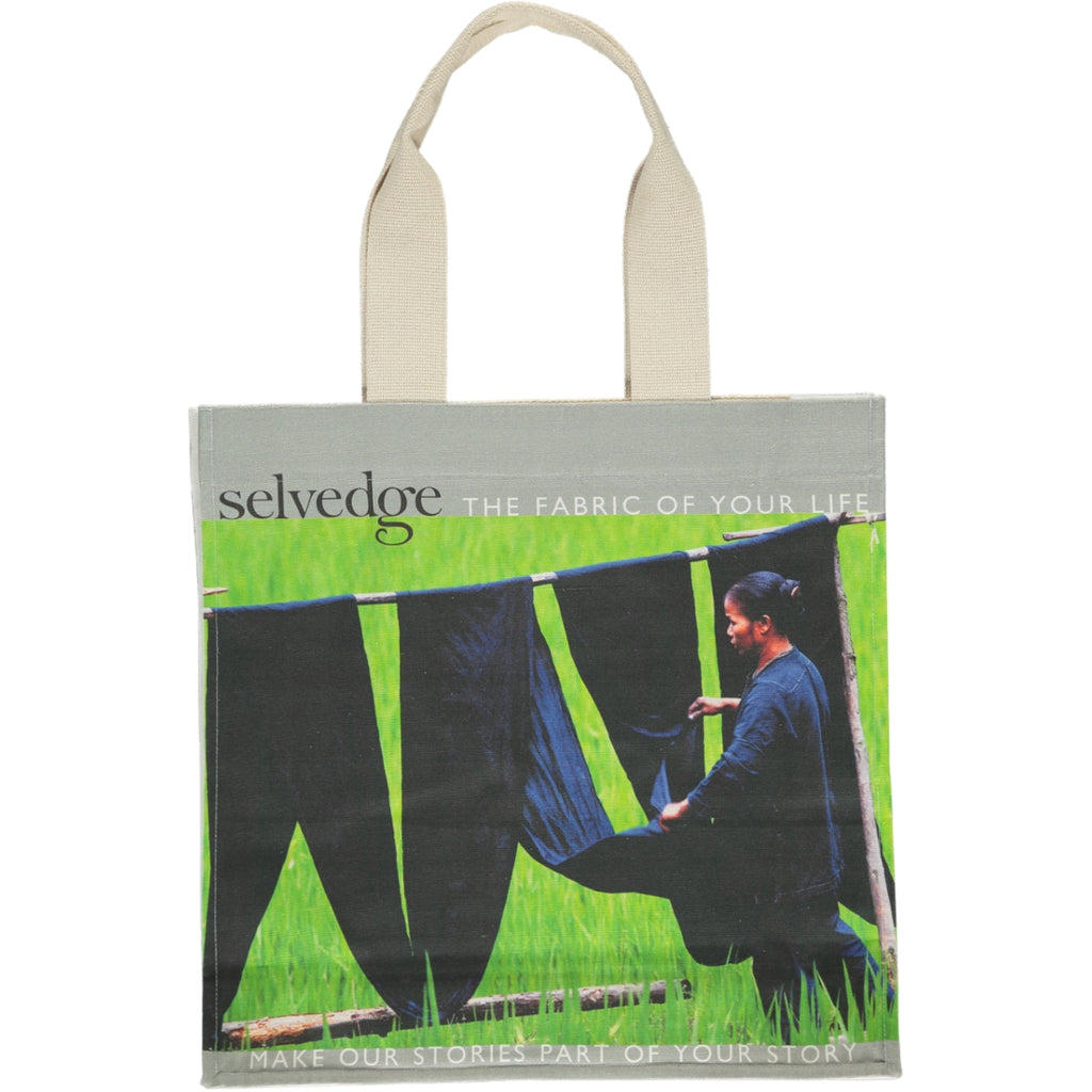 The Selvedge Tote, Issue 11 Vivid
