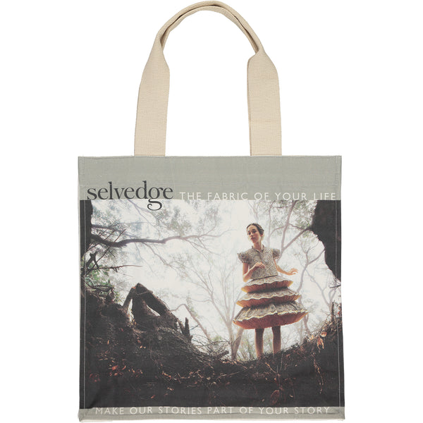 The Selvedge Tote, Issue 91 Luxe