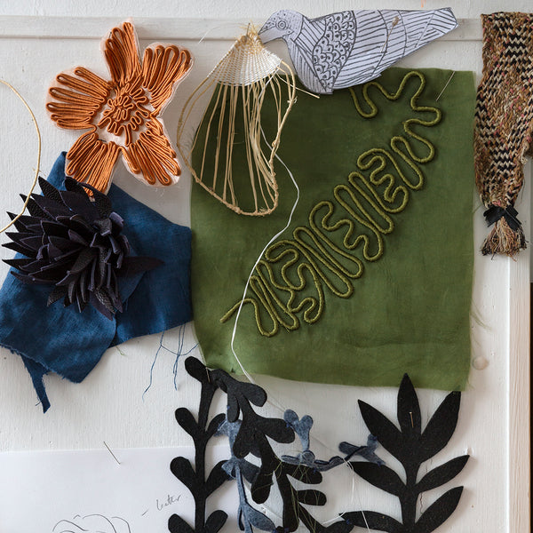 17-24 August 2019, Lora Avedian, Blooming Marvellous, Two and Three Dimensional Fabric Flowers - Selvedge Magazine