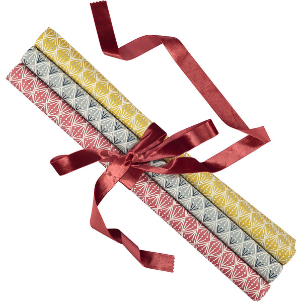 The Selvedge Wrapping Paper by Cambridge Imprint (Assortment of Colours Available)