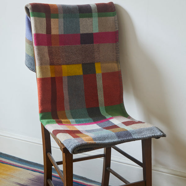 The Selvedge Blanket by Wallace & Sewell