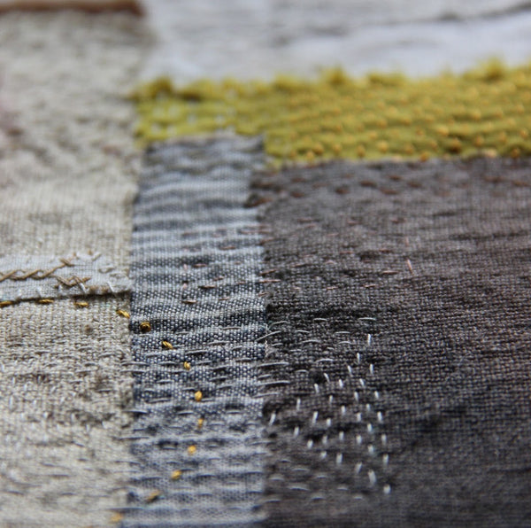 17-24 August 2019,  Claire Wellesley-Smith,  Slow Stitch, Mindful and Contemplative Textiles - Selvedge Magazine