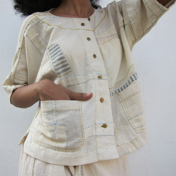 Saturday 17 April 2021, Handstitched Upcycled Clothing, Virtual Workshop with RaasLeela