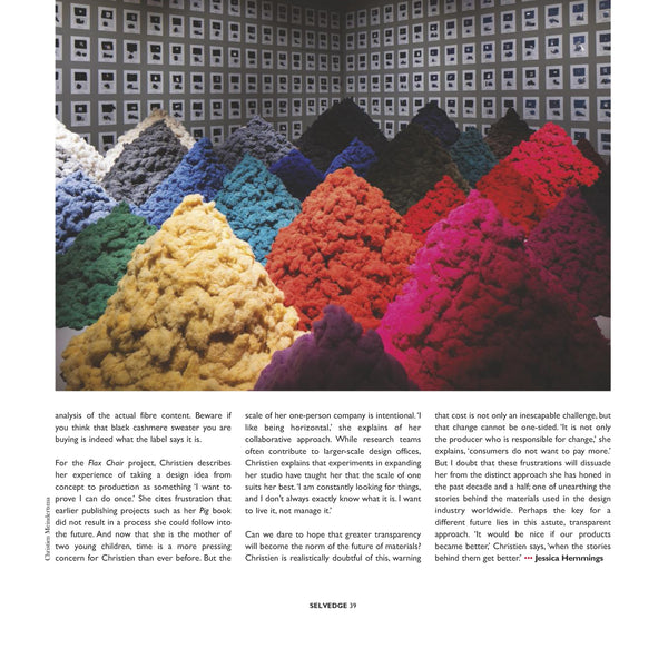 Issue 78 Substance - Selvedge Magazine