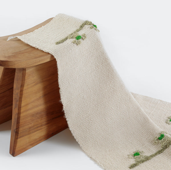 Traditional Baby Blanket by Artesanías de Chile Foundation (Chile)
