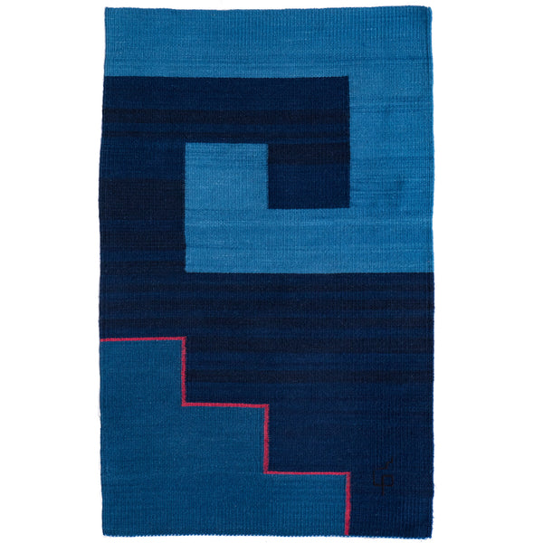 Journey Series CST3/5 Rug / Wall Hanging by Porfirio Gutierrez (Mexico)