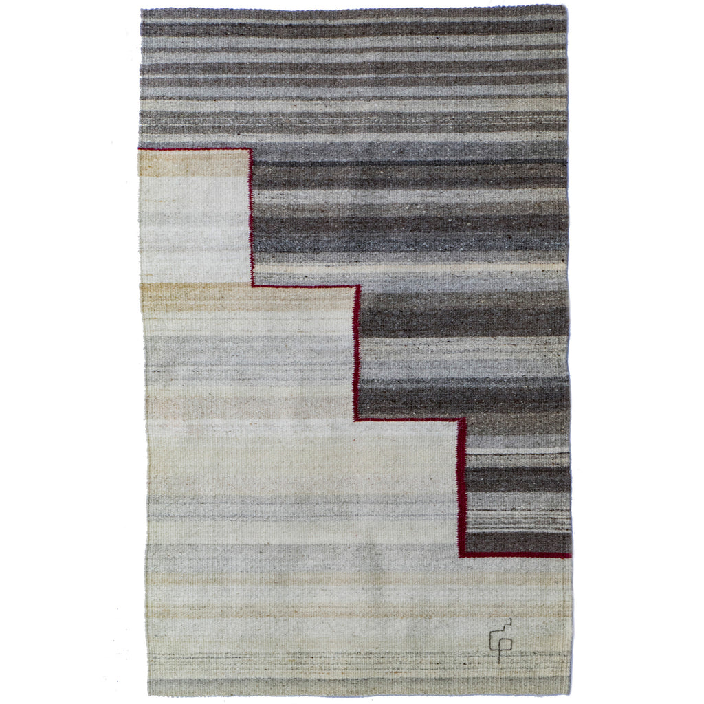 Journey Series CST9 Rug / Wall Hanging by Porfirio Gutierrez (Mexico)