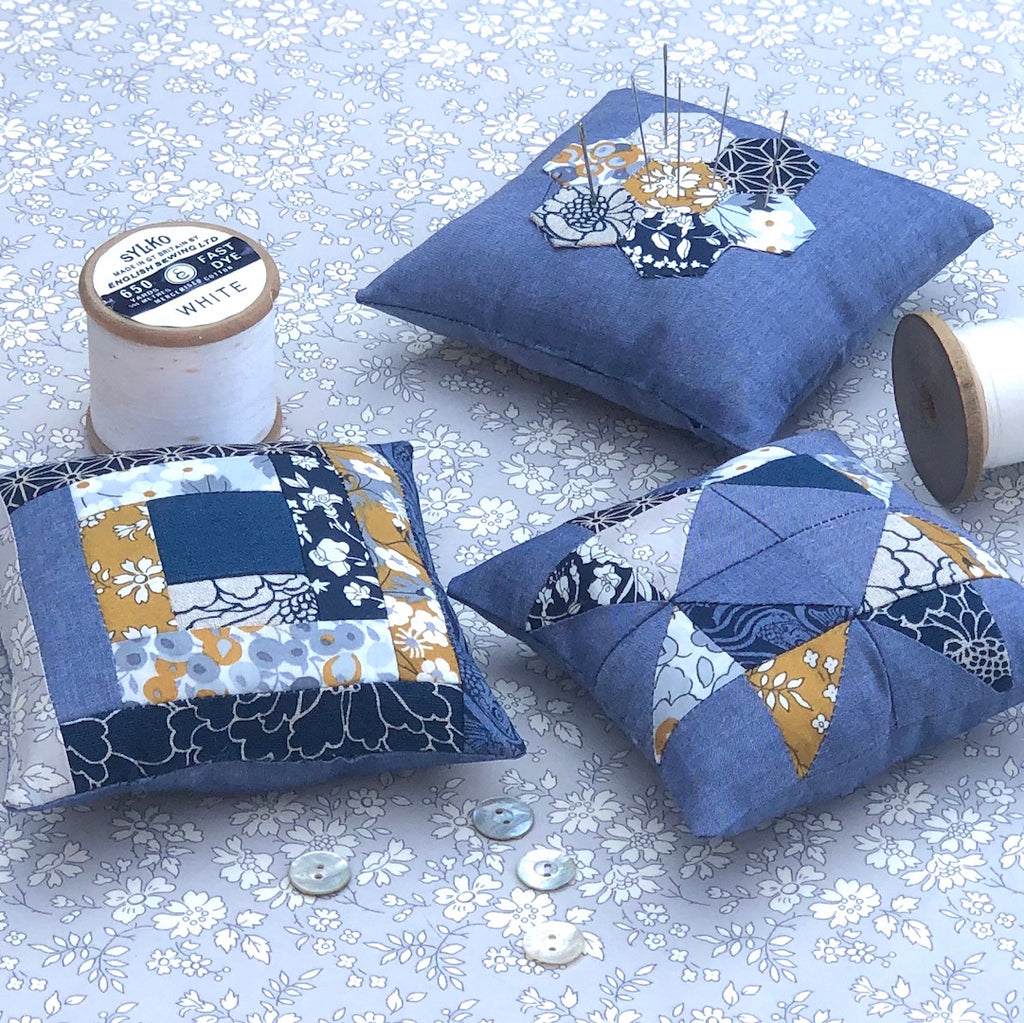 How to make a patchwork pincushion with Alice Caroline