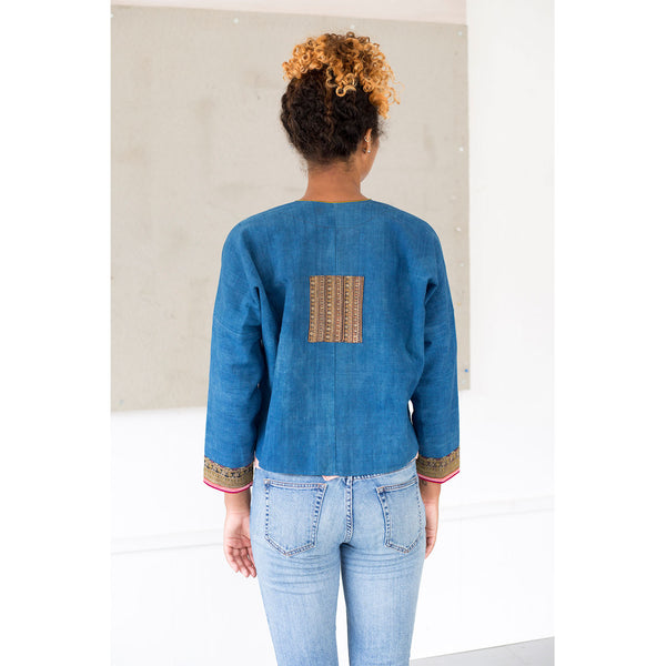 6 Dip Embroidered Jacket by Ly Ta May (VIETNAM)