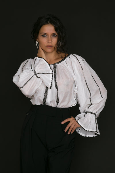 Carmen Blouse by Anda Ene/SC Sanctus Authentica SRL (ROMANIA)