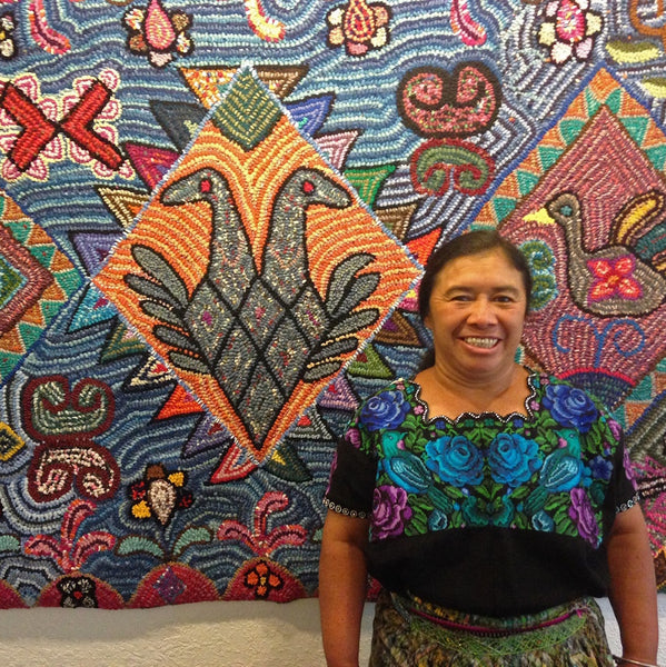 4 September 2020, 3-5pm BST, Rug Hooking, Virtual Workshop with Multicolores (Guatemala)