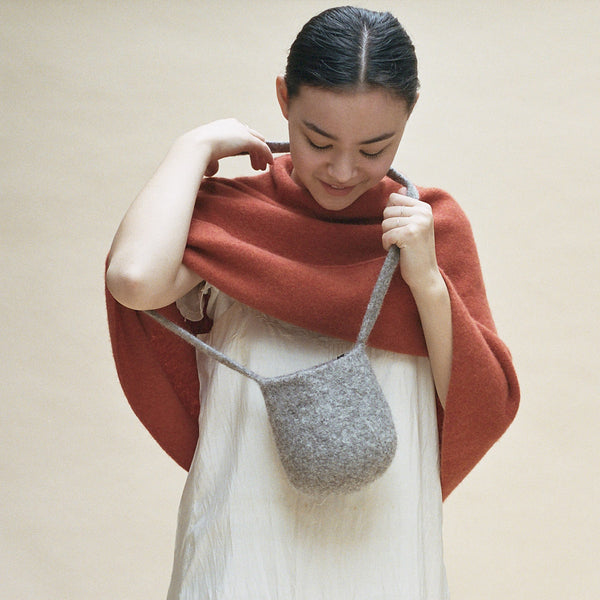 Cecilie Telle, Ball Bag - Selvedge Magazine